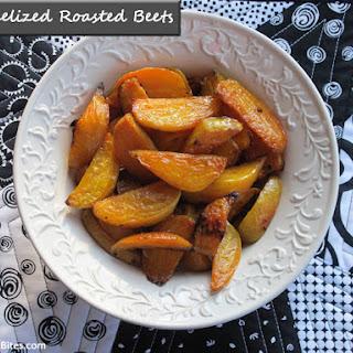 Caramelized Roasted Beets.