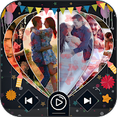 Heart Effect Photo Movie Maker With Song