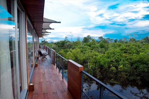 Aria-view - Cruise the Amazon River in luxury on Aria.