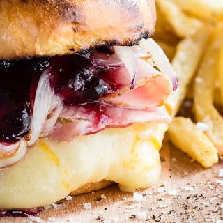 Monte Cristo Burger with Arla® Muenster Sliced Cheese.