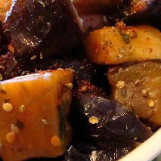 Italian Eggplant Sauteed