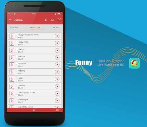 玩免費個人化APP|下載世界のトップの面白い着信音のコレクション app不用錢|硬是要APP