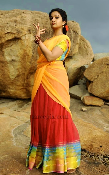 Colors-Swathi-dance-in-half-saree-Tripura-movie
