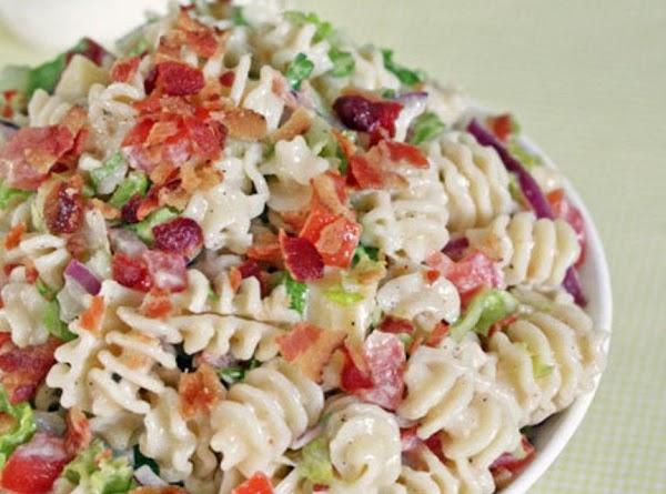Ranch Blt Macaroni Salad Recipe