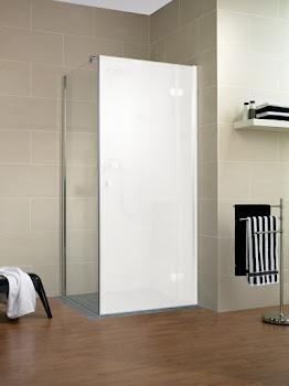 Paroi latérale pour porte de douche pivotante sur paroi fixe