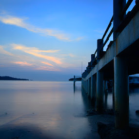 Cidaon Dock by Firman Surya - Landscapes Waterscapes