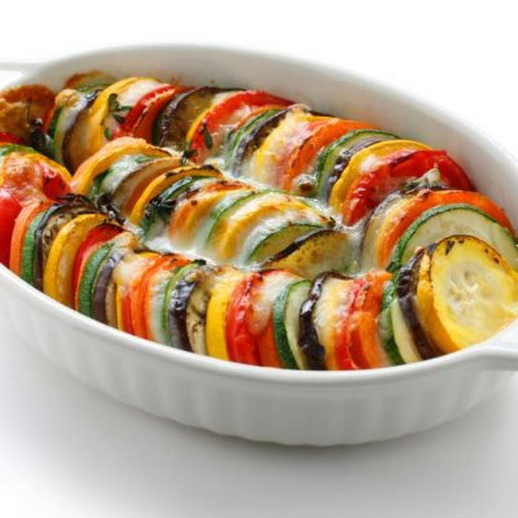 Cheesy Baked Ratatouille