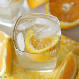 Orange Crush Cocktail.