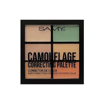 Paleta de Correctores   Samy Color Light Medium x6gr