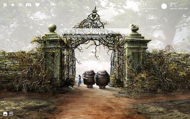 Alice in Wonderland Wallpaper & Alice Theme