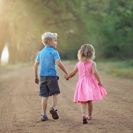 We're all just walking each other home by Pierre Vee - Babies & Children Children Candids