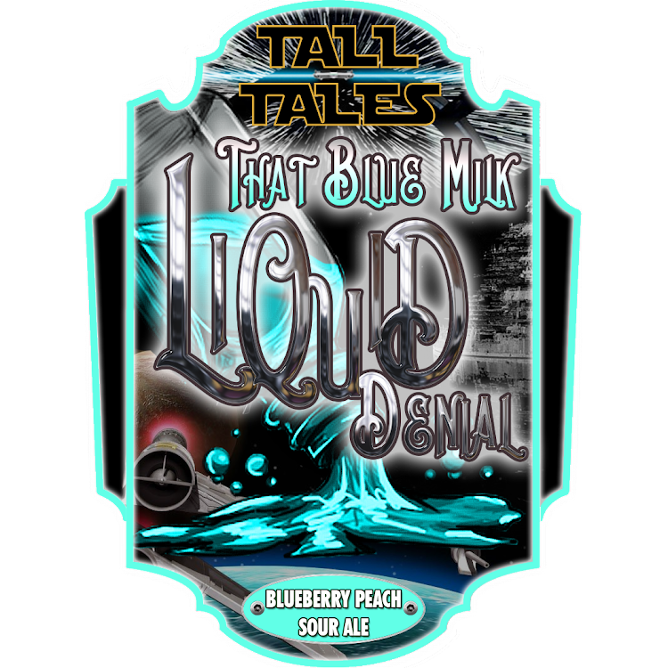 Logo of Tall Tales Liquid Denial - That Blue Milk