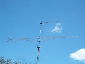 Photo: anténa jen 7,5 m nad zemí