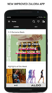 App ZALORA Fashion Shopping APK for Windows Phone