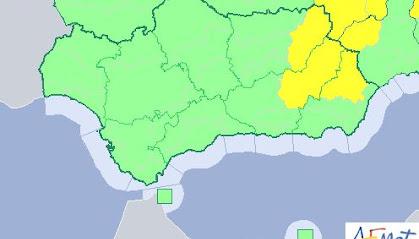 Previsión de AEMET en la provincia de Almería para este miércoles 15 de agosto.
