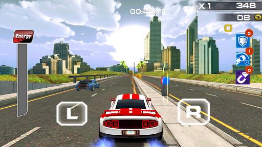 Traffic Freeway Turbo Car