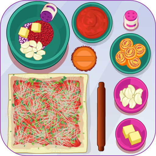 Cooking Pizza Roll (game)