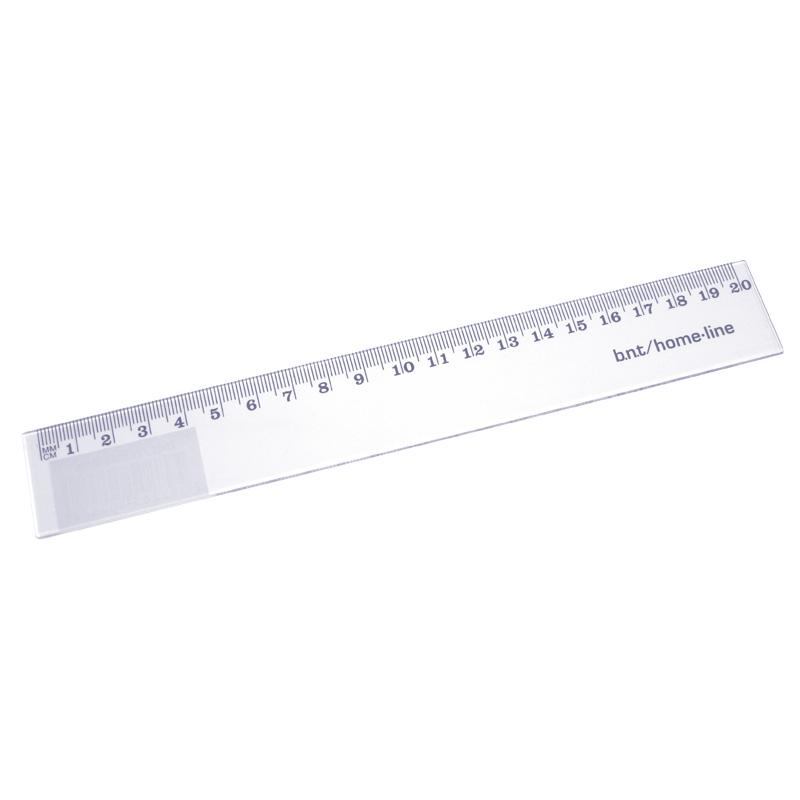 Ruler 20cm Transparent