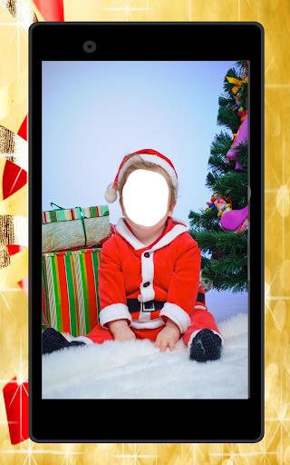 bébé Noël Photo Montage