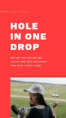 Hole in One Drop - Facebook Story item