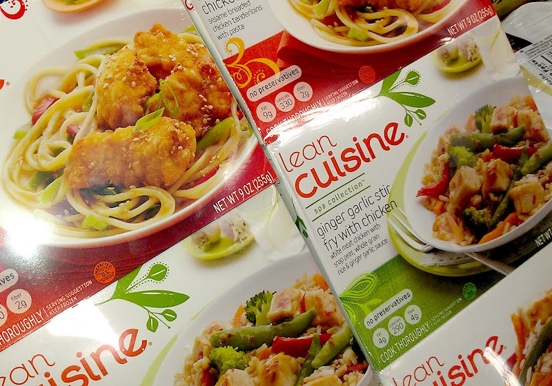 Photo: This week I was out of town for work and living in a hotel. Spending a week without my husband's cooking could really wreak havoc on my budget and my health so I decided this was a great time to take a step toward eating healthy. I headed to Sam's Club in Houston, TX to pick up some Lean Cuisine. #FrozenFavorites