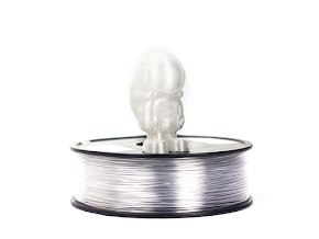 Clear Translucent MH Build Series PETG Filament - 1.75mm (1.0kg)