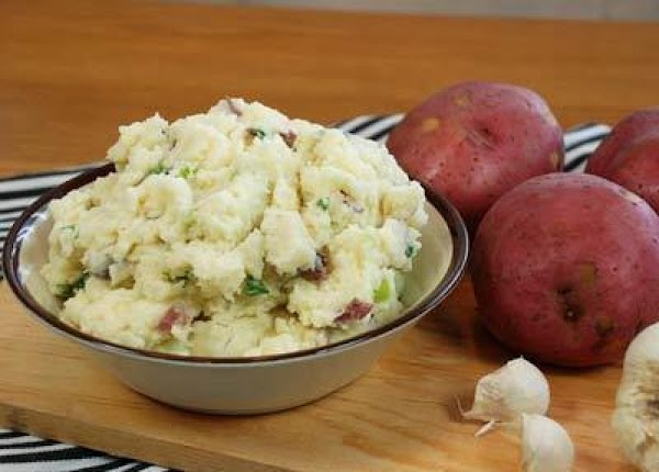 Garlic Mashed Potatoes With Parmesan Recipe