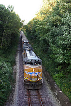 Photo: Evening Ore Train Headed South