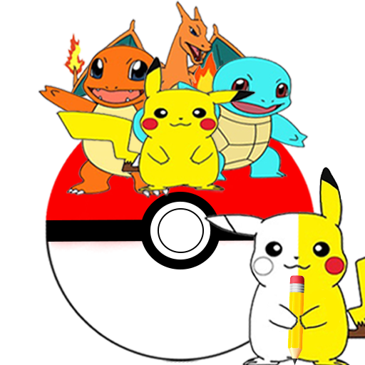 Draw Pikatchu & His Friends 遊戲 App LOGO-硬是要APP