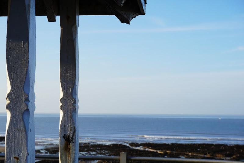 Vista sul mare da una spiaggia inglese di Nico00