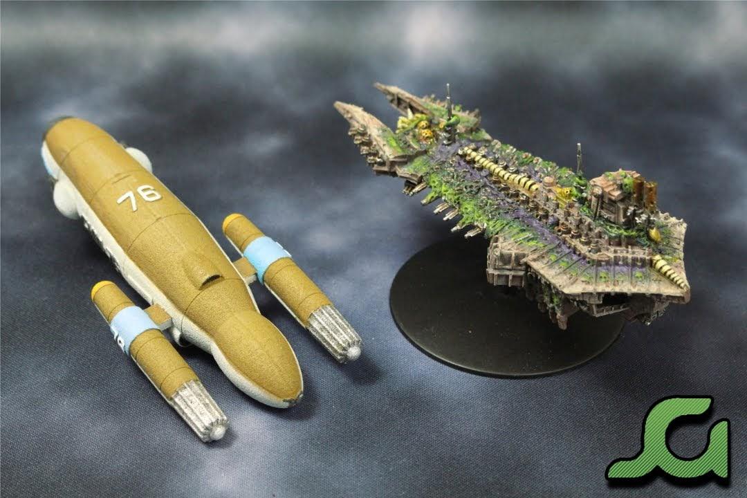 BFG and Star Trek Rear