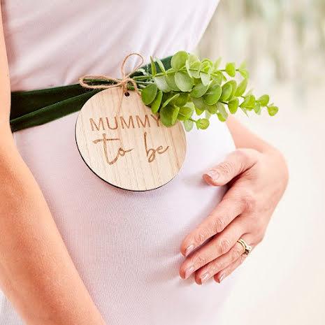 Band Mummy to be - Botanical baby