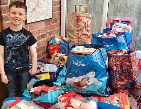 600 gifts for Crisis Centre