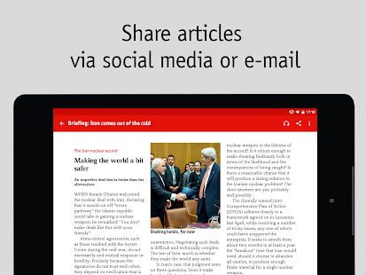 The Economist Screenshot 9