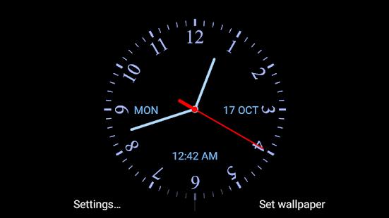 Analog clock live wallpaper apps on google play screenshot image gumiabroncs Choice Image