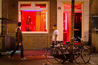 Photo: Amsterdam. Red Light district