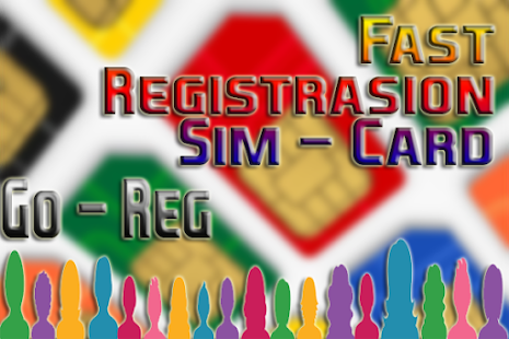 Sim Card Fast Registration Application: Go - Reg - náhled