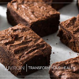 4-Ingredient Paleo Pumpkin Brownies.