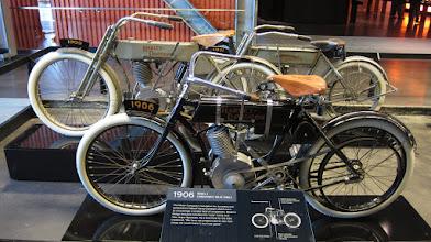 Photo: Harley Davidson müzesi. ( Milwaukee )