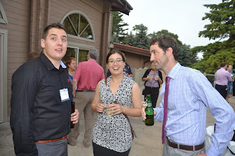 Photo: Joe Della Valle, Adrianne Mitani, Adam Moons
