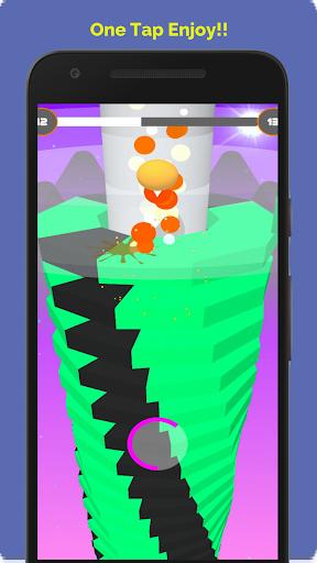 Télécharger Gratuit Vintex Ball-Blast through one click APK MOD (Astuce) screenshots 4