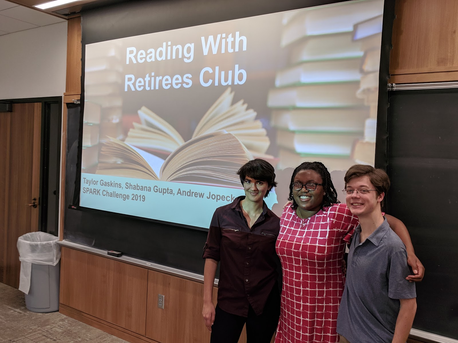 Reading with Retirees Club