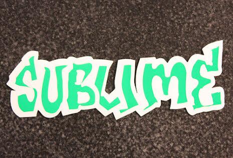 Sublime - Klistermärke