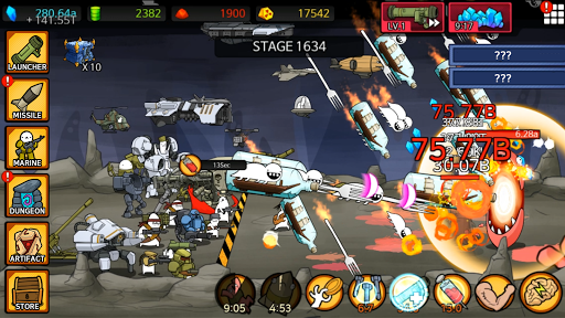 [VIP]Missile Dude RPG: Tap Tap Missile apkpoly screenshots 7