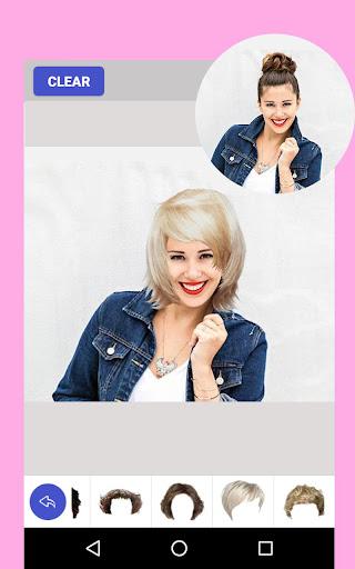 玩免費遊戲APP|下載Hair Style Color Changer Women app不用錢|硬是要APP