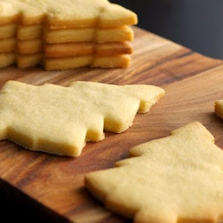 Vanilla Bean Sugar Cookie Shapes.