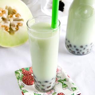 Honeydew Bubble Tea