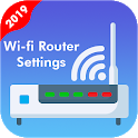 Wifi Router manager  Router settings icon