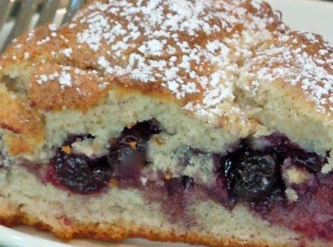 Blueberry Breakfast Cake Recipe