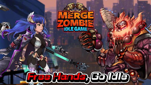 Merge Zombie: idle RPG  captures d'écran 1